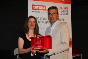 Chiara Gentile e Assessore Simoncini